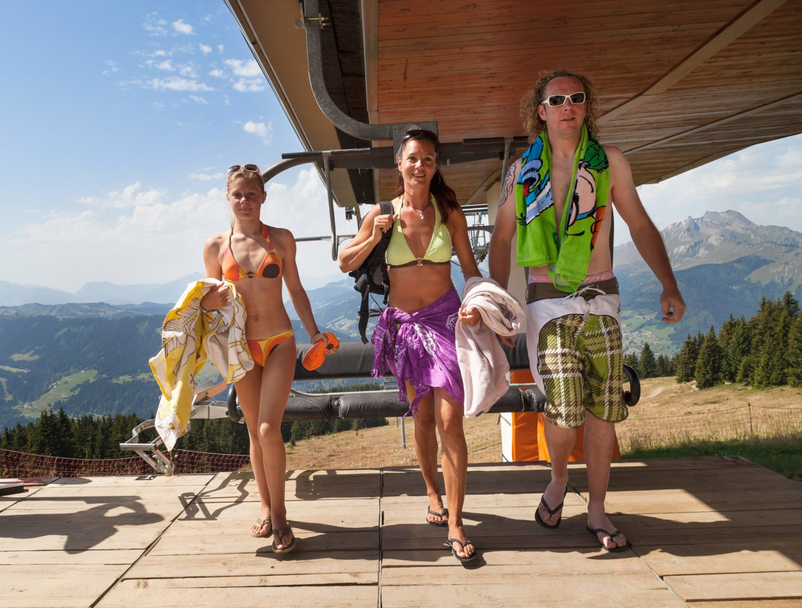 Portes du soleil summer mountain holidays with the multi pass - Multi pass portes du soleil ...