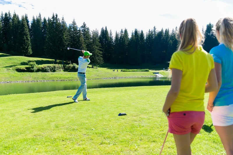 Where to play golf in Morzine & Les Gets