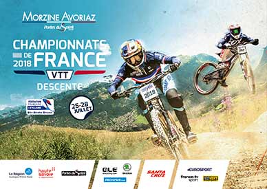 French Downhill Mountain Bike Championships – Morzine